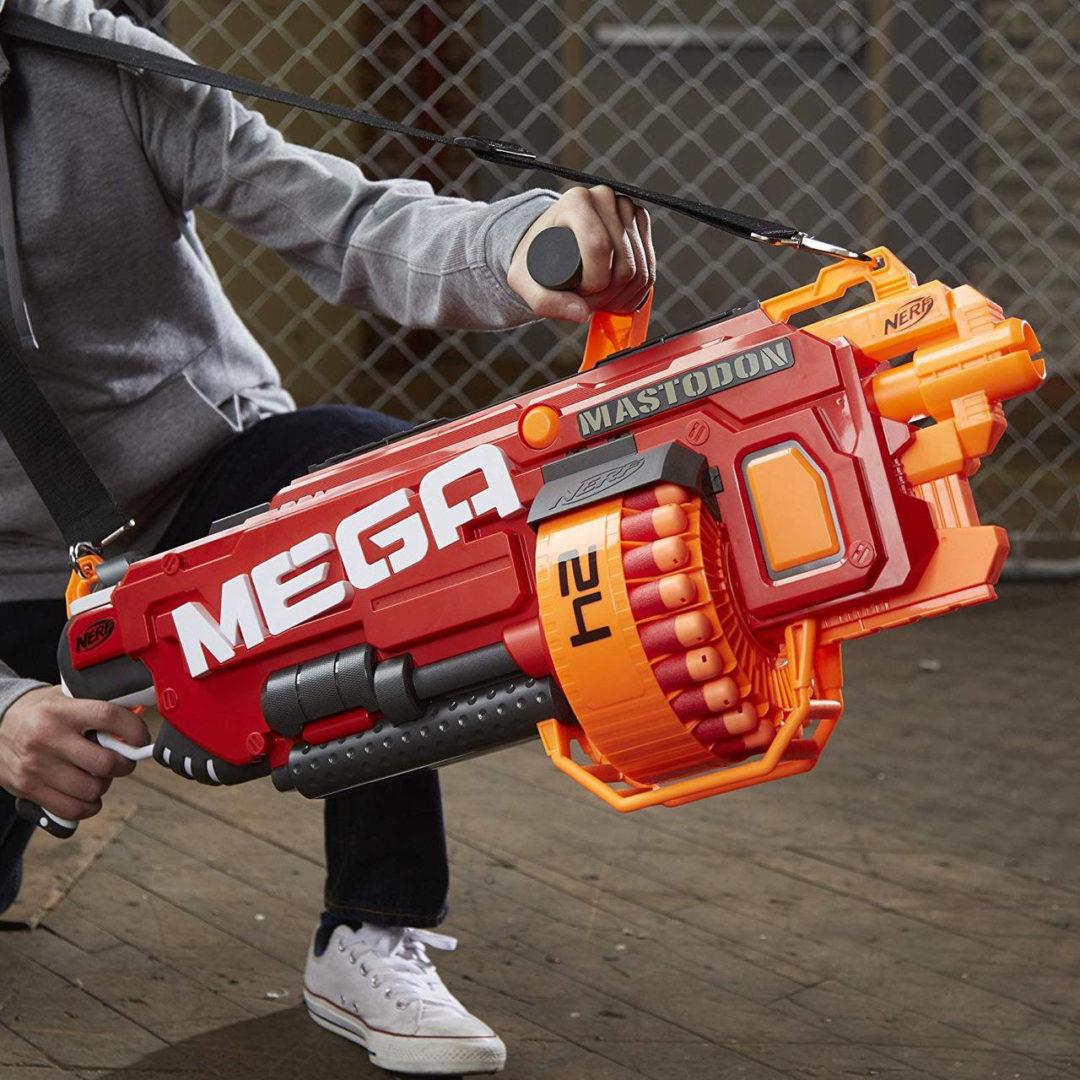 Mega Nerf бластеры