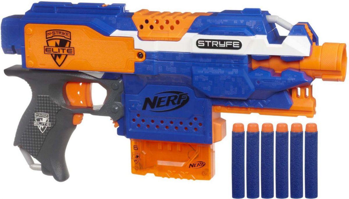 Nerf Elite бластеры
