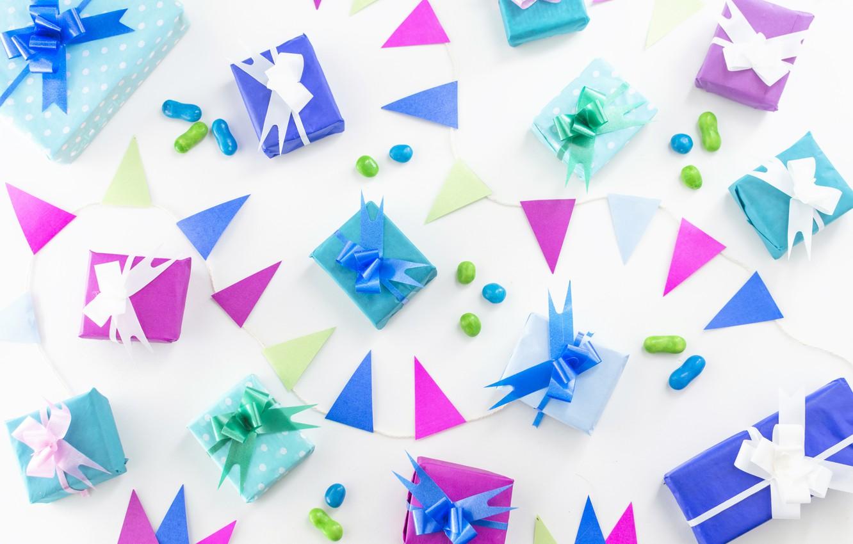 праздничная бумага для дня рождения