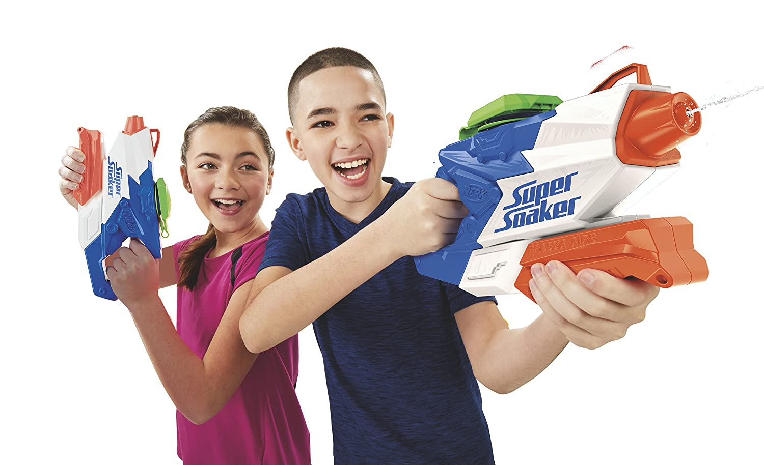 Nerf Super Soaker FreezeFire 2.0 Sports Toys & Outdoor Pool & Beach Toys umoonproductions.com