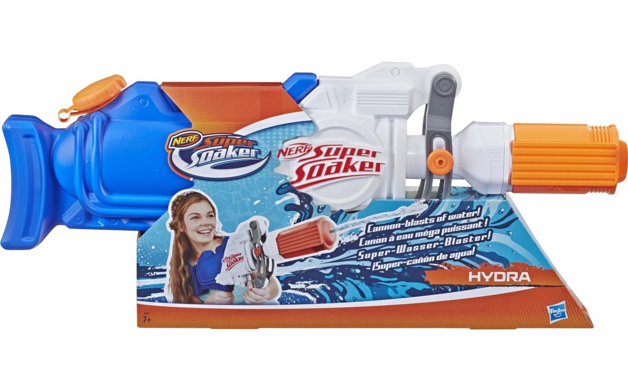 Водный бластер Nerf Super Soaker Hydra, 1.9 л (E2907) - купить в Украине | Profi-Toys