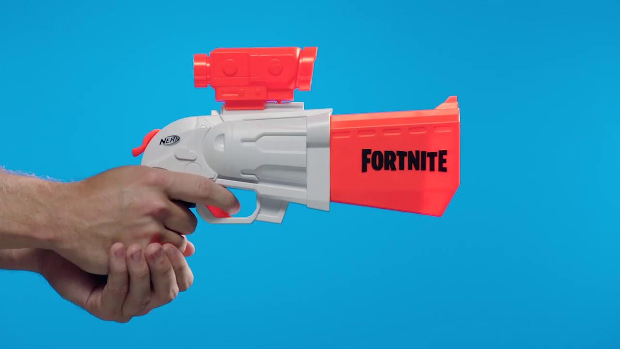 Бластер Nerf Fortnite SR (E9391)   Нерф Фортнайт Scoped Revolver